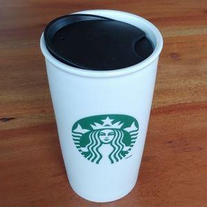 2011 Starbucks Ceramic 12oz Classic Tumbler